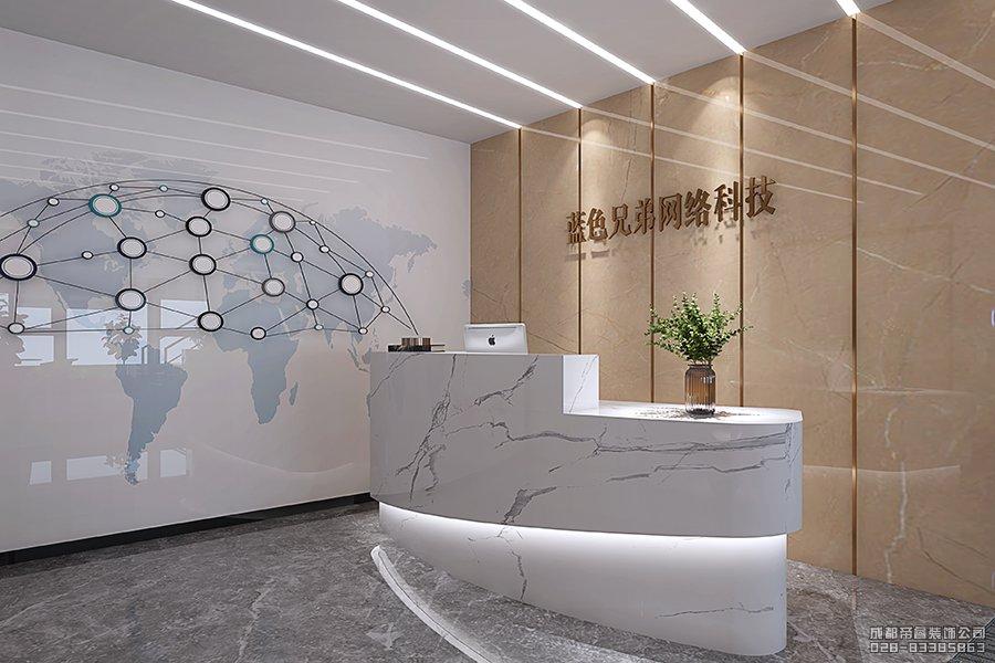 网络科技公司形象墙设计亚博国际app官方下载